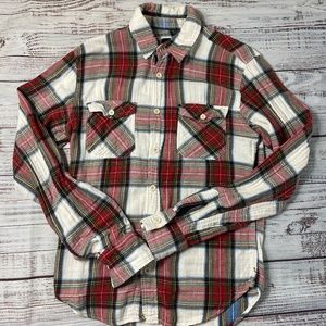 Zara Vintage Plaid Flannel